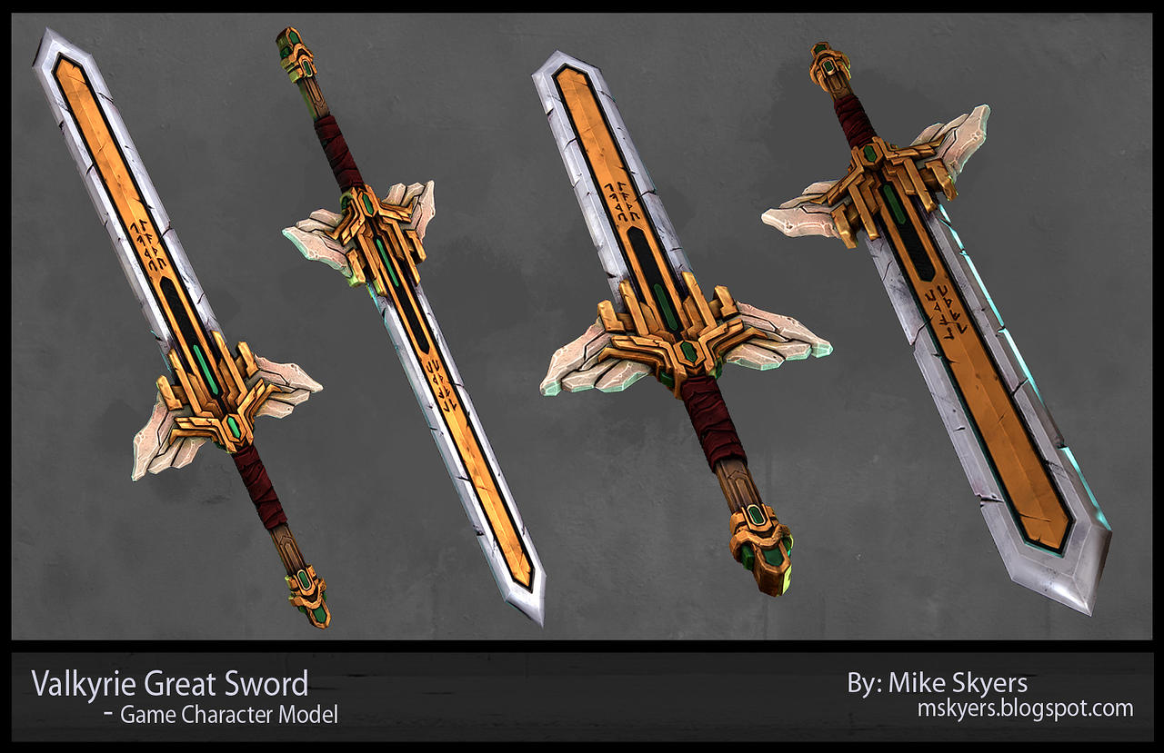 Valkyrie Great sword by 0SkyerS0