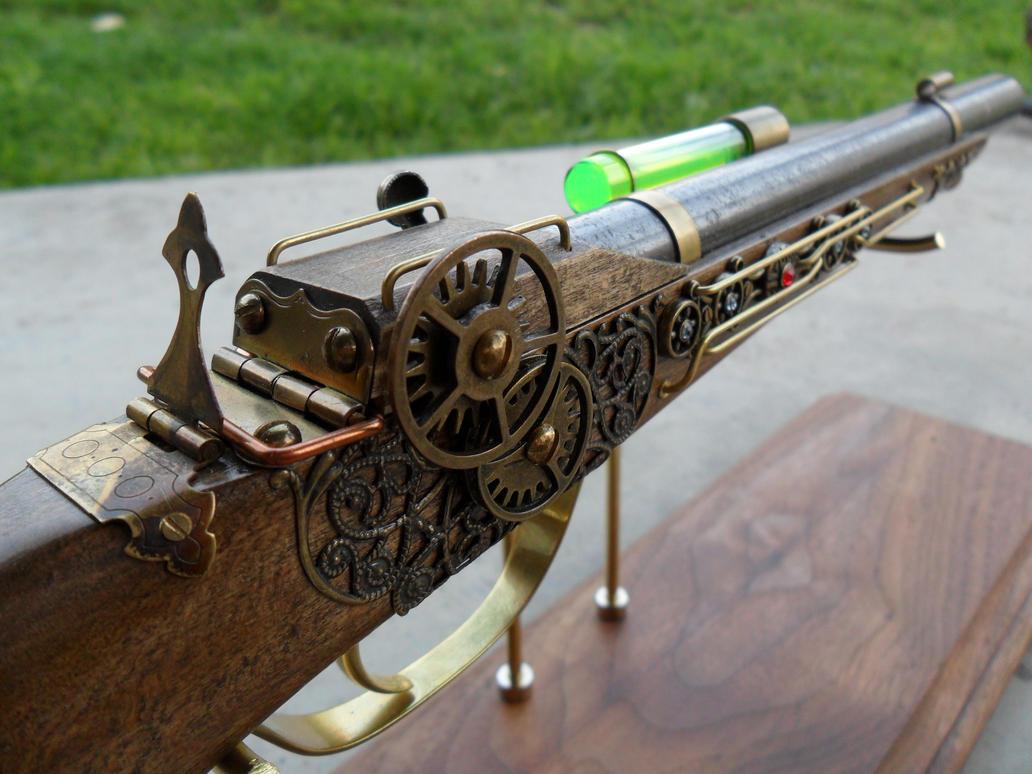 Steampunk Dueling Pistol by ShadowArcher80