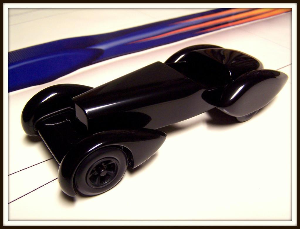1930 Mercedes Ssk Trossi Pinewood Derby Car By
