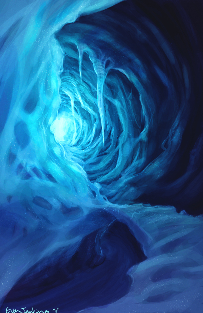 Ice Cave by EvanJenkins