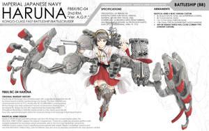 KanColle - Battleship Haruna by HirokiRee