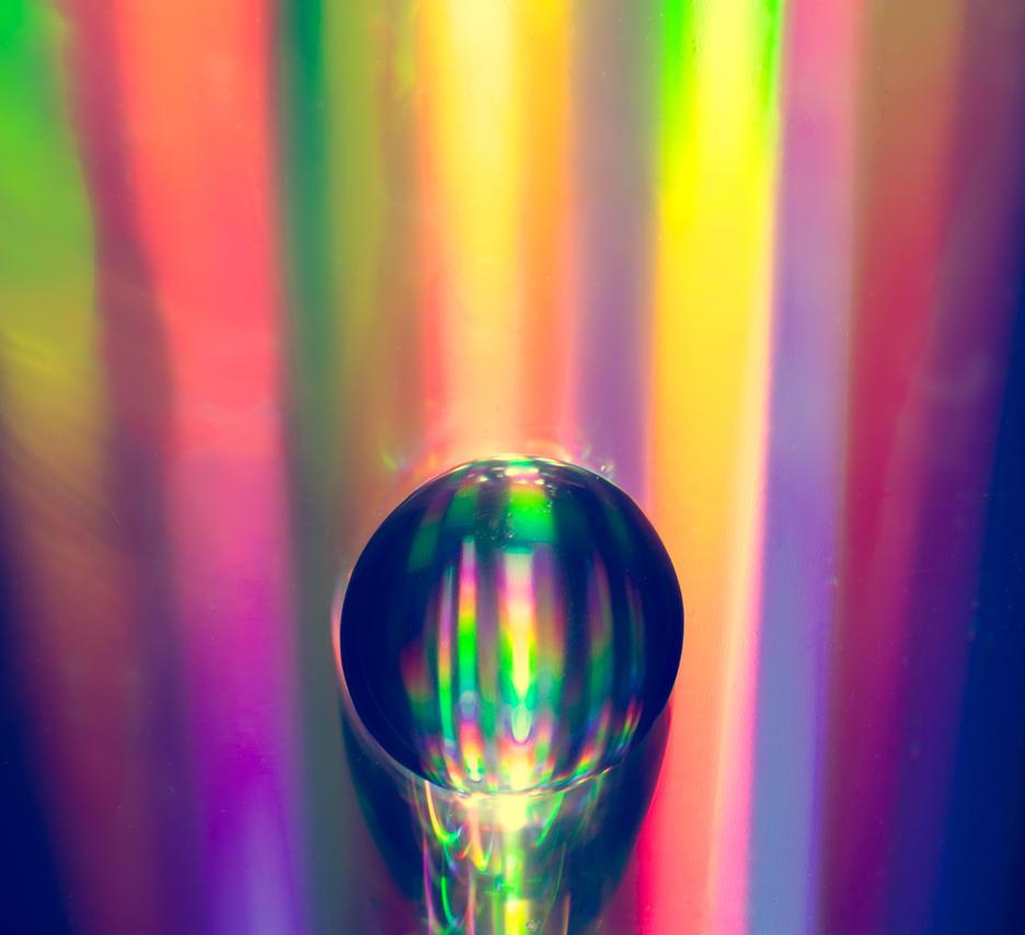 Rainbow Drop by transkendium