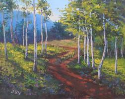 Birches. by herrerojulia