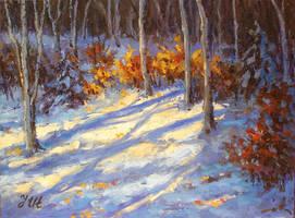 Little winter landscape by herrerojulia