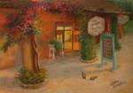 Summer cafe.