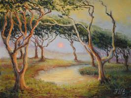 Jekill island trees. by herrerojulia
