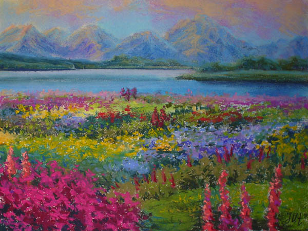 Flowering evening. by herrerojulia