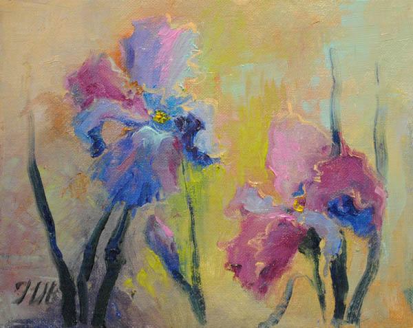 Irises by herrerojulia