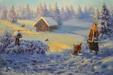 Winter walk. by herrerojulia