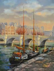 Le Pont Neuf de Paris by herrerojulia