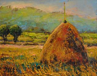 Hay stack. Part 1. by herrerojulia