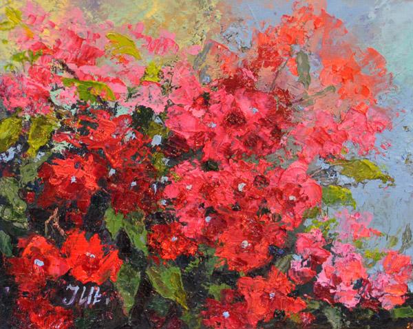 Bougainvillea abstract. by herrerojulia