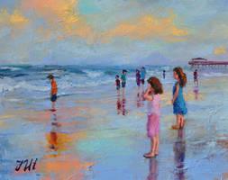 Tybee beach. by herrerojulia
