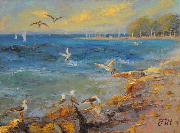 Seagulls. by herrerojulia