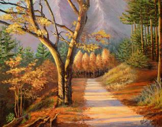 Autumn trail. by herrerojulia