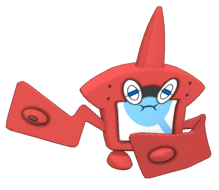 Rotom-Disgusted by HallowVGR on DeviantArt