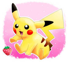 pikachu :3 by majigoma
