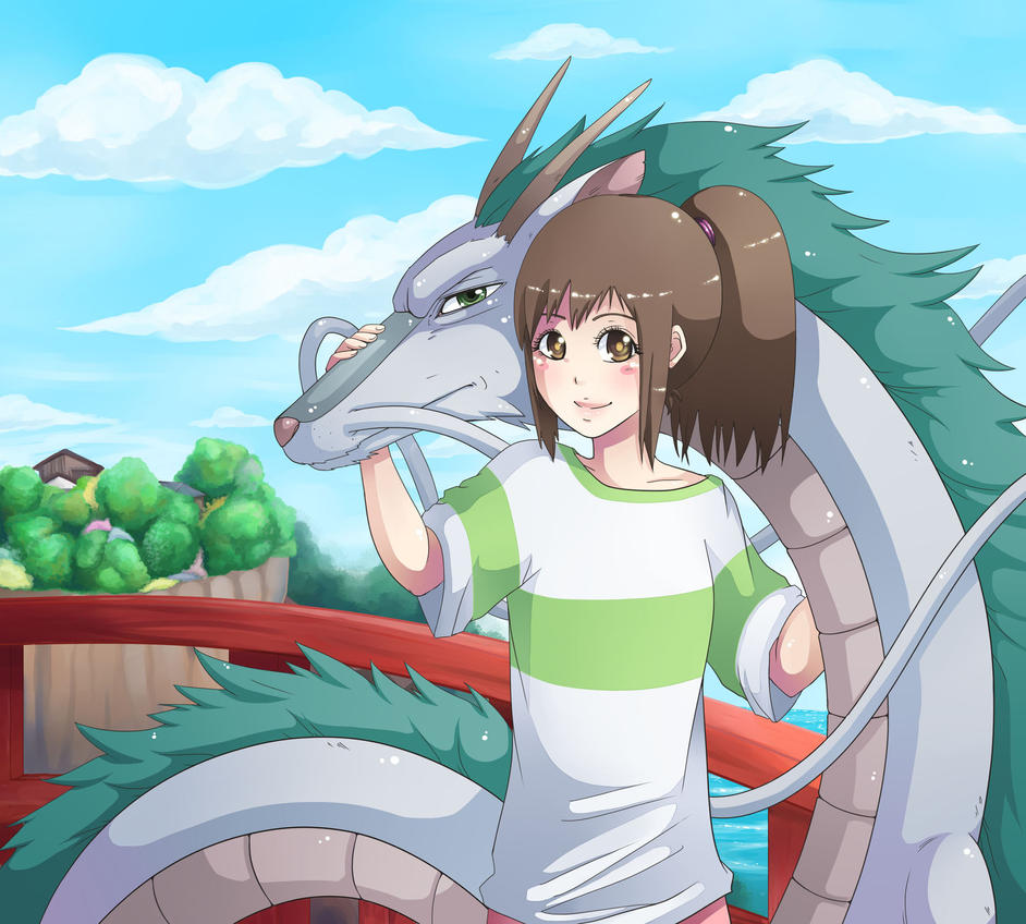 spirited away~ by majigoma