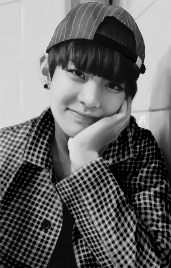 [BTS] Kim Taehyung by majigoma