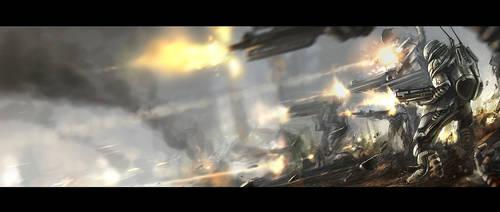 Final battle by KageRott