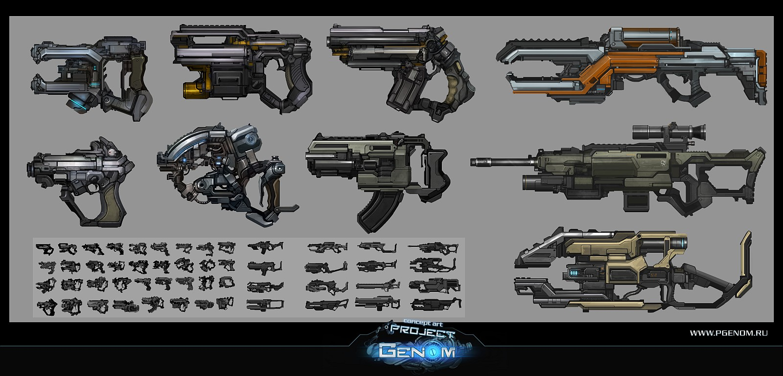 Guns by KageRott