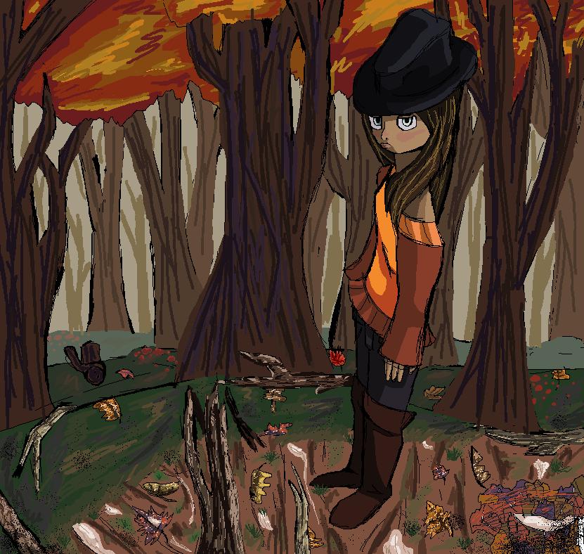 fall themed art by Deathllamas33