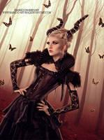 Queen of butterflies by MarkOoMarben