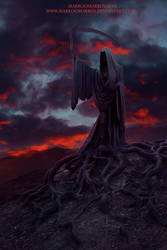 The king of the devils by MarkOoMarben