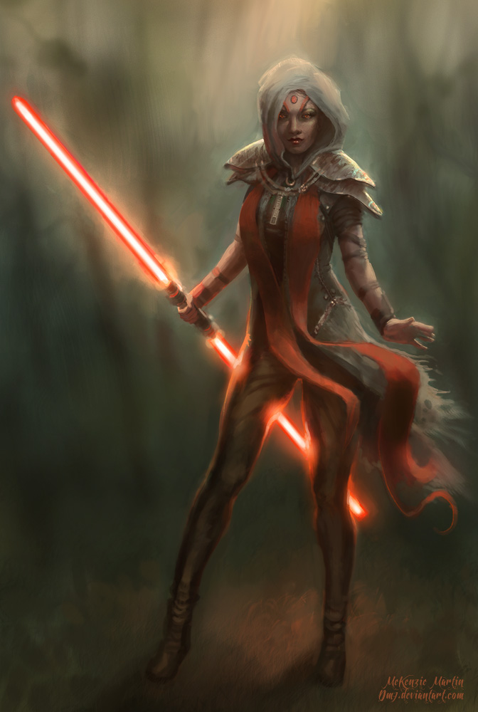 Female Sith by DM7
