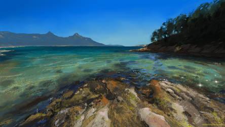 Study: Wineglass Bay