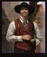 Study: Doc Holliday 4h by DM7