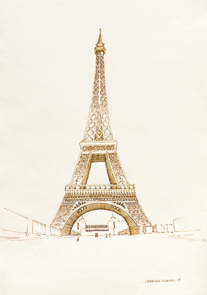 Eiffel Tower by DM7