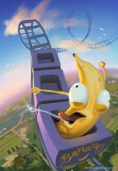 Banana going bananas at banana theme park by DM7