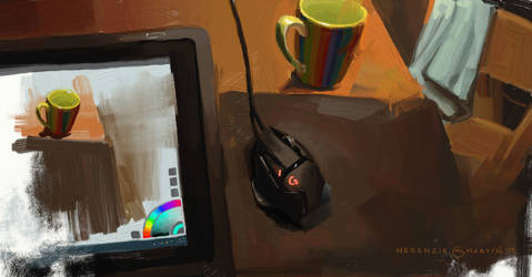 Still Life Study with Artrage by DM7