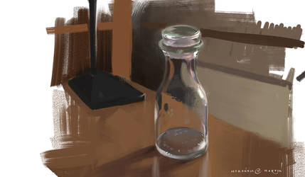 Study: Glass Bottle