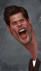 Caricature: Jim Carrey