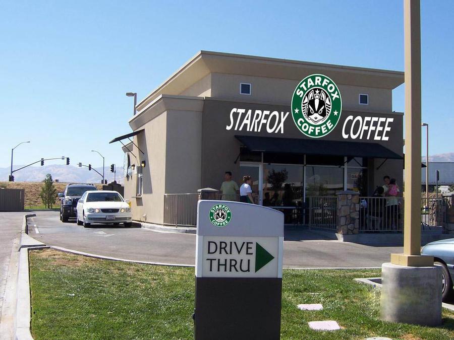 StarFox Coffee by lastorka