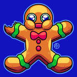 Hungry Gingerbread Man