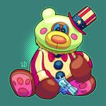 Teddy Bear Captain Spaulding