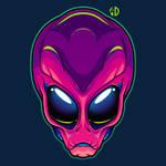 Magenta Alien