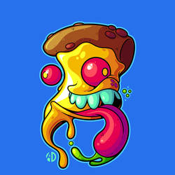 Weird Dough Pizza