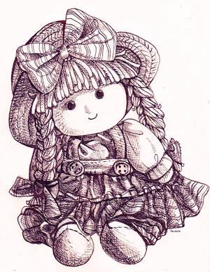 Little doll by tea-hee