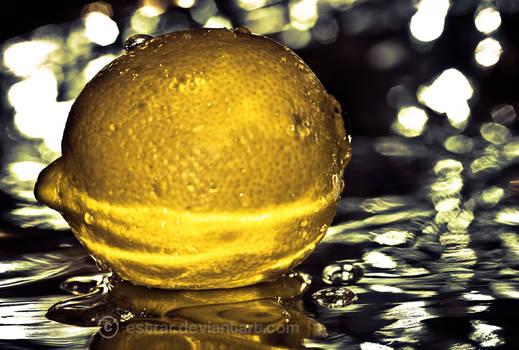 All wet and yellow