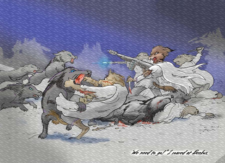 Savora Snow Battle by bscruffy