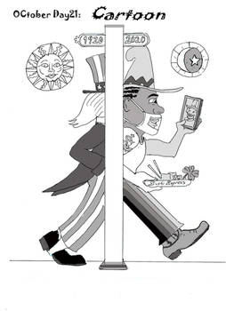 OCtoberDay 21 Cartoon