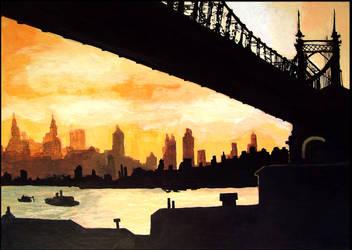 Good morning New York City by WinterCombatKnight