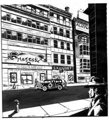 NYC 1930 Inked by WinterCombatKnight
