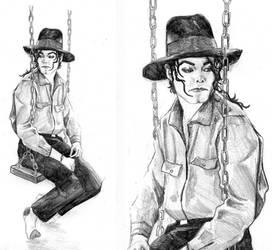 Michael Jackson by WinterCombatKnight
