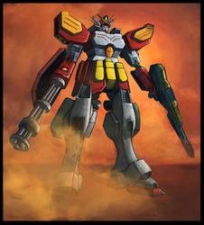 Gundam Heavyarms by WinterCombatKnight