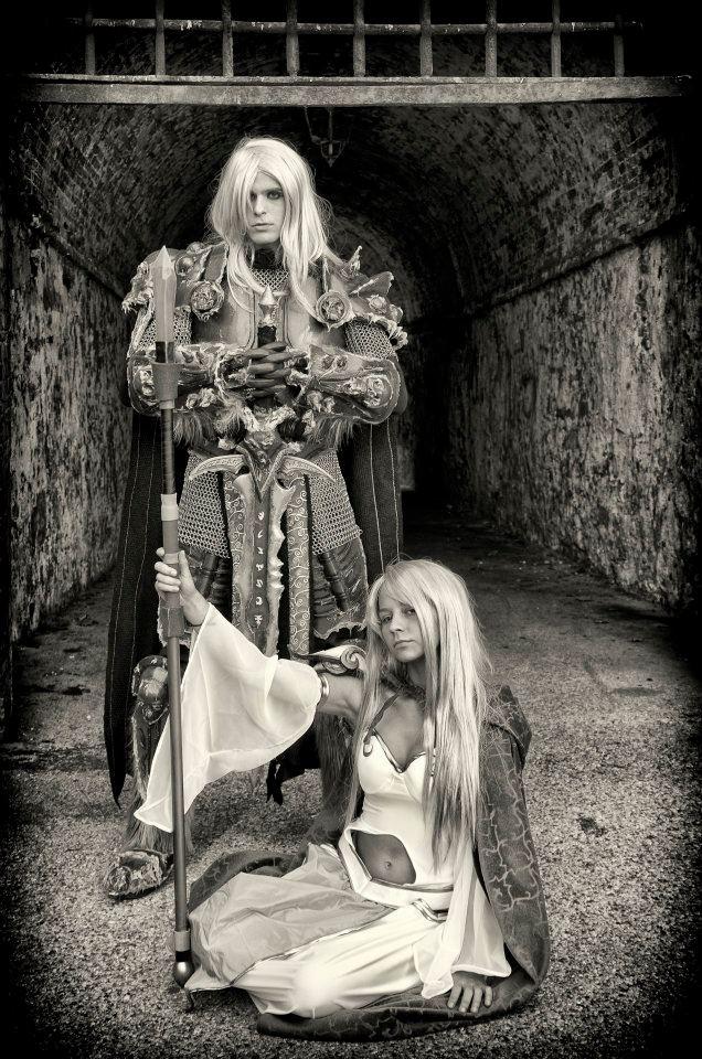 Arthas and Jaina by Imriel87